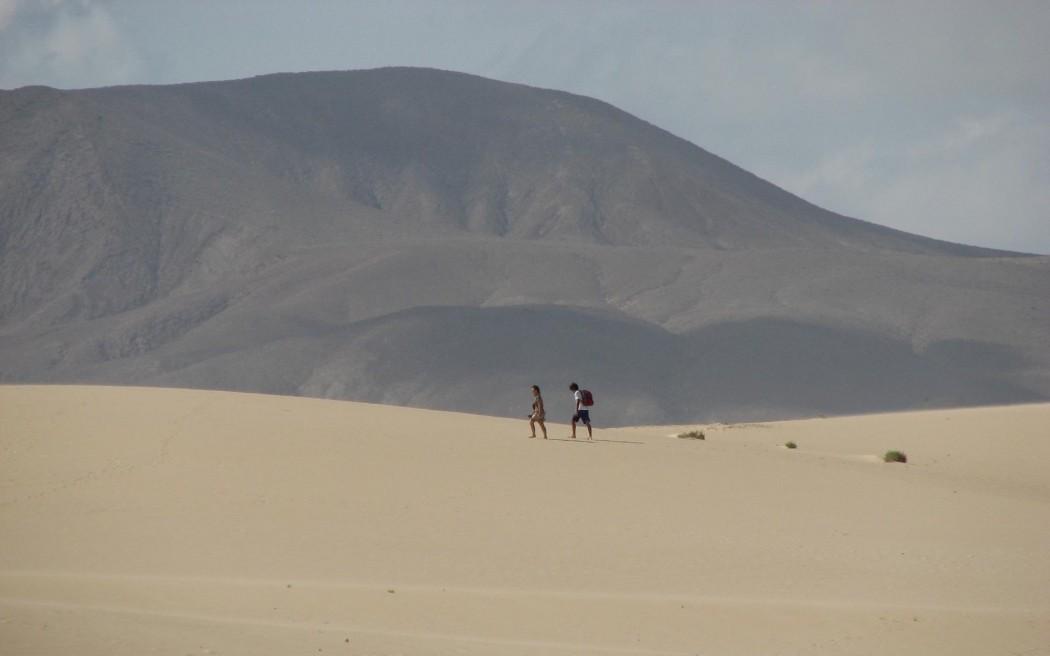 Typisch Fuerteventura: Parque Natural Corralejo