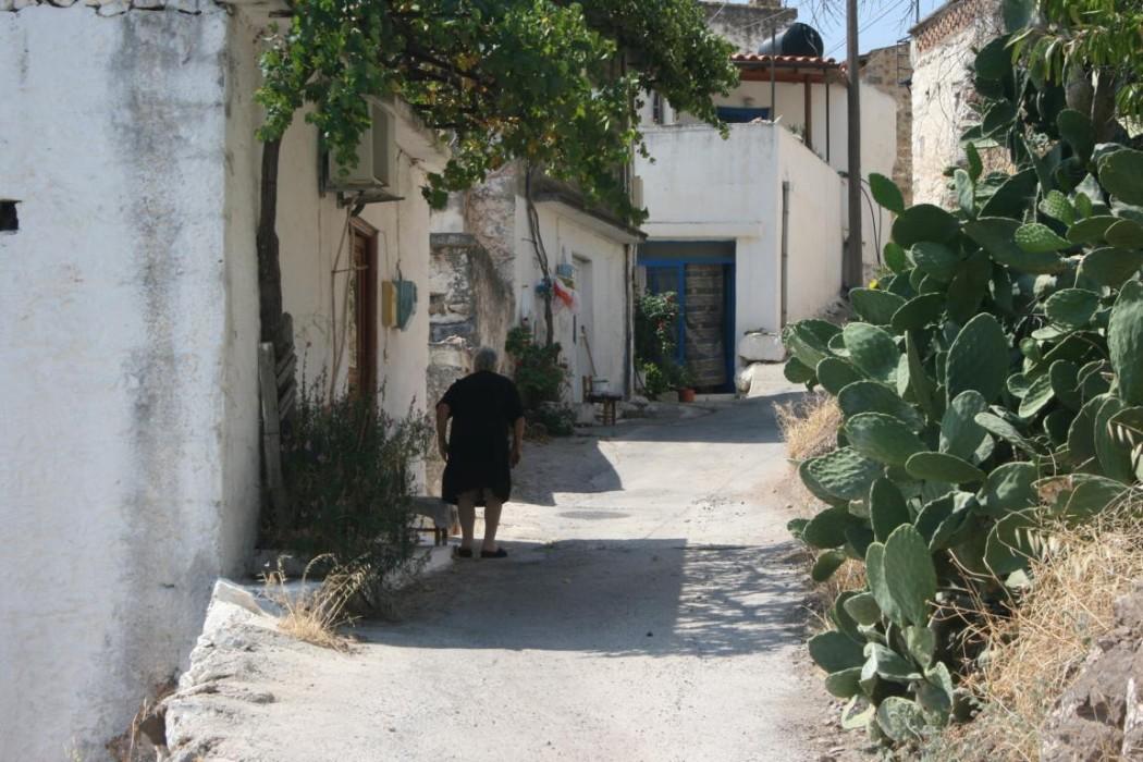 Typisch Kreta: Bergdorf Kritsa bei Agios Nikolaos