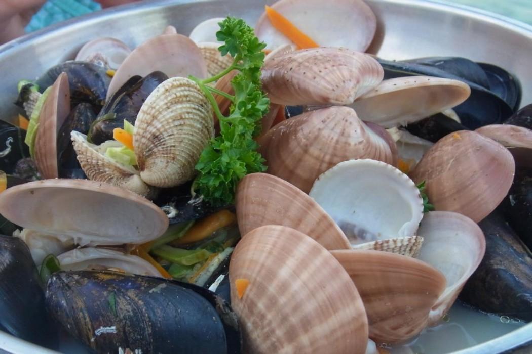 Typisch Kreta: Fisch frisch auf den Tisch