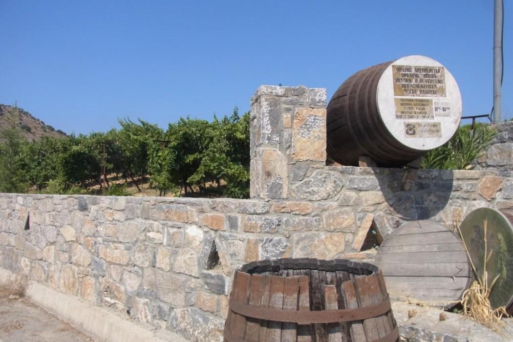 Typisch Kreta: Weingut bei Peza