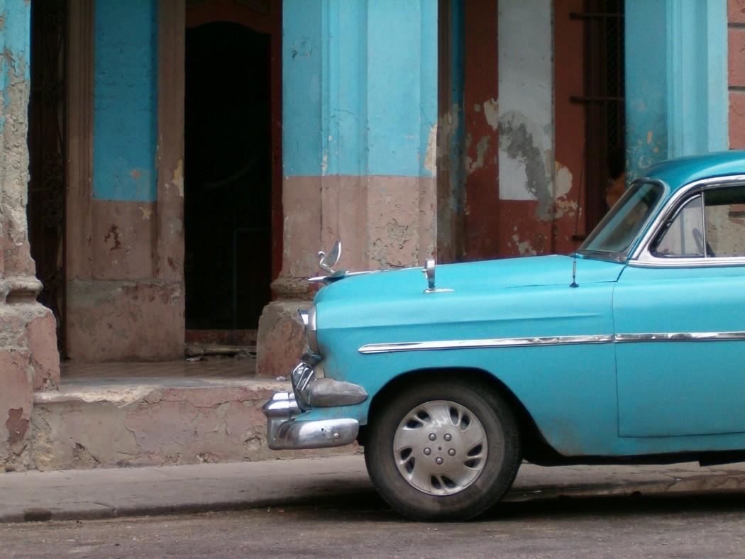 Typisch Kuba: Oldtimer im Alltag