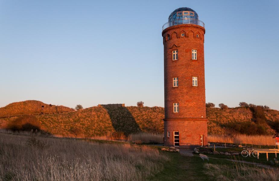 Typisch Rügen: Peilturm Kap Arkona als nördlichster Punkt Rügens