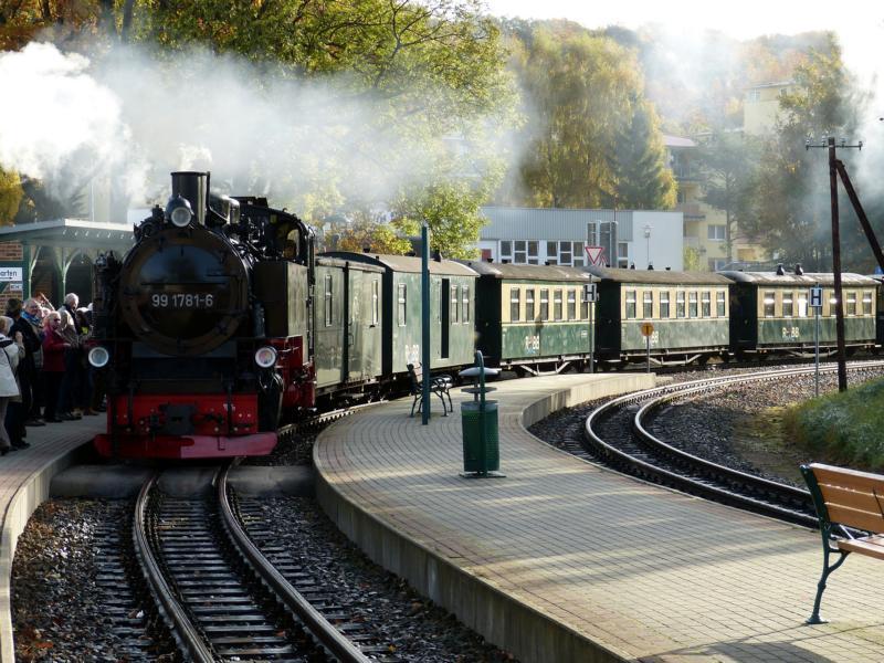 Typisch Rügen: Bäderbahn Rasender Roland