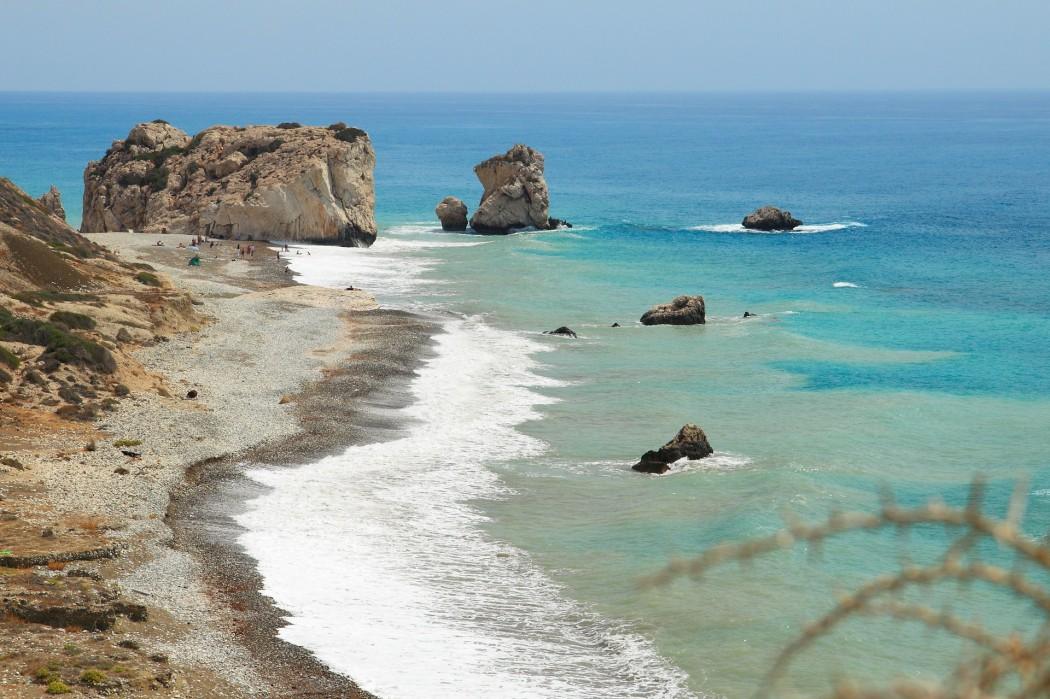 Typisch Zypern: Aphrodites Geburtsstätte bei Paphos