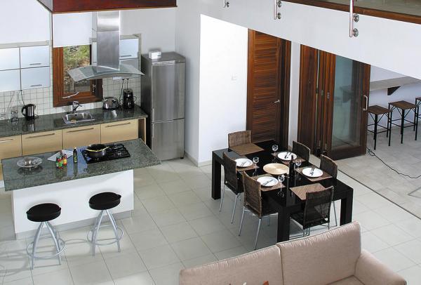 Luxusvilla innen  Luxus-Villa auf Felsvorsprung bei Pomos, Zypern - Insel-in-Sicht