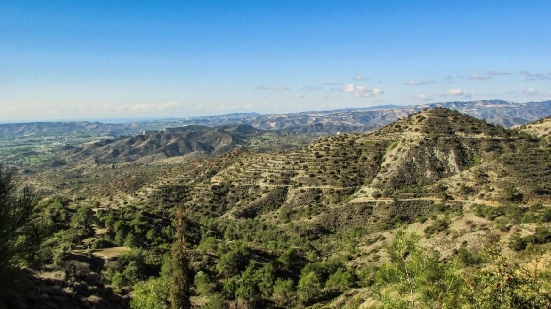 Typisch Zypern: Waldreiche Gebirge im Inselinneren