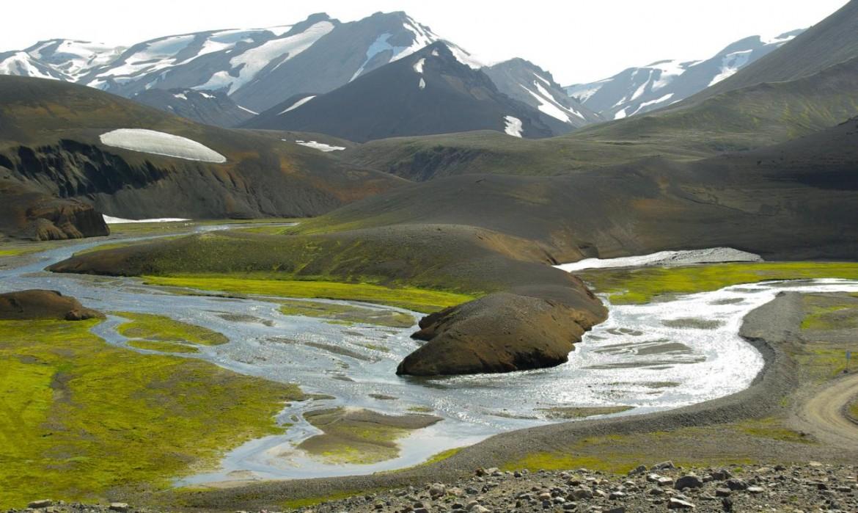 Typisch Island: Bizarre Landschaften wie bei Landmannalaugar