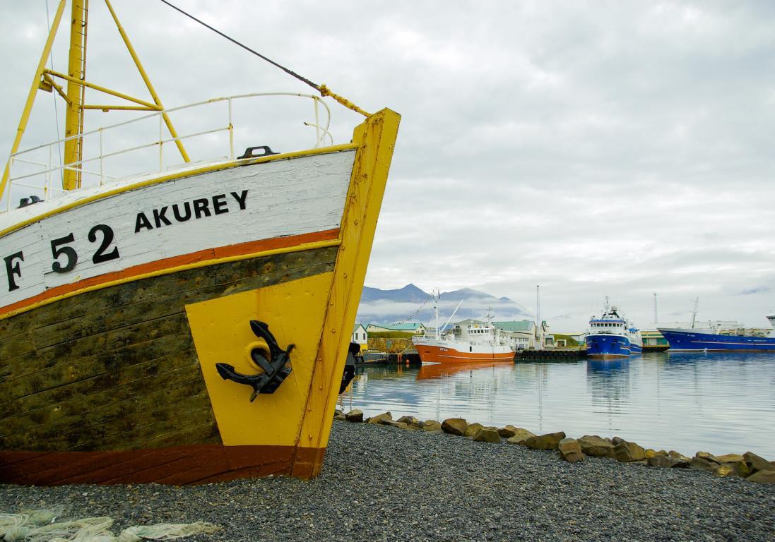 Typisch Island: Idyllische Fischerstädte wie Akrureyri