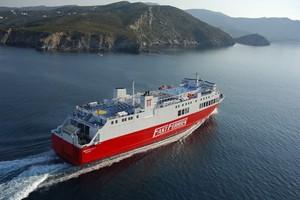 F/B Theologos P: Fährverbindung zwischen Griechenland und Mykonos © Cyclades Fast Ferries