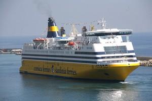 Mega Smeralda: Flaggschiff der Fähr-Reederei Corsica Sardinia Ferries © Corsica Sardinia Ferries