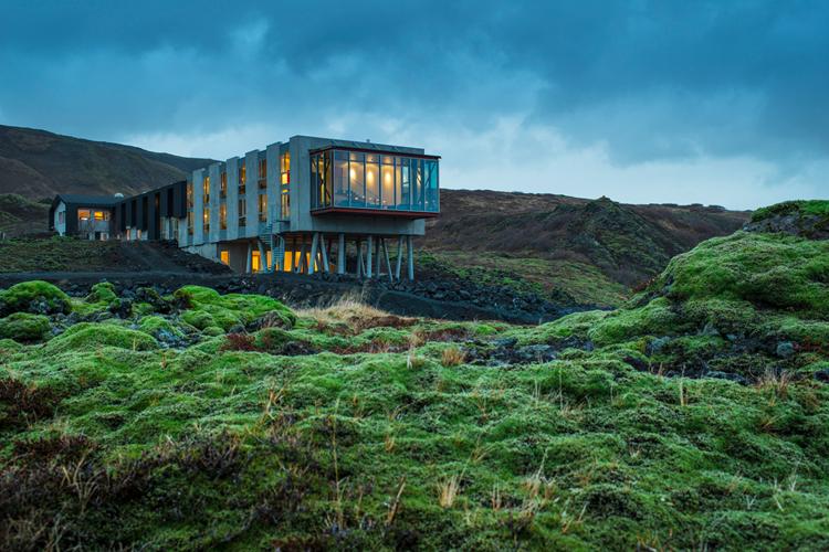 Ion luxury adventure design hotel in selfoss island for Designhotel sylt